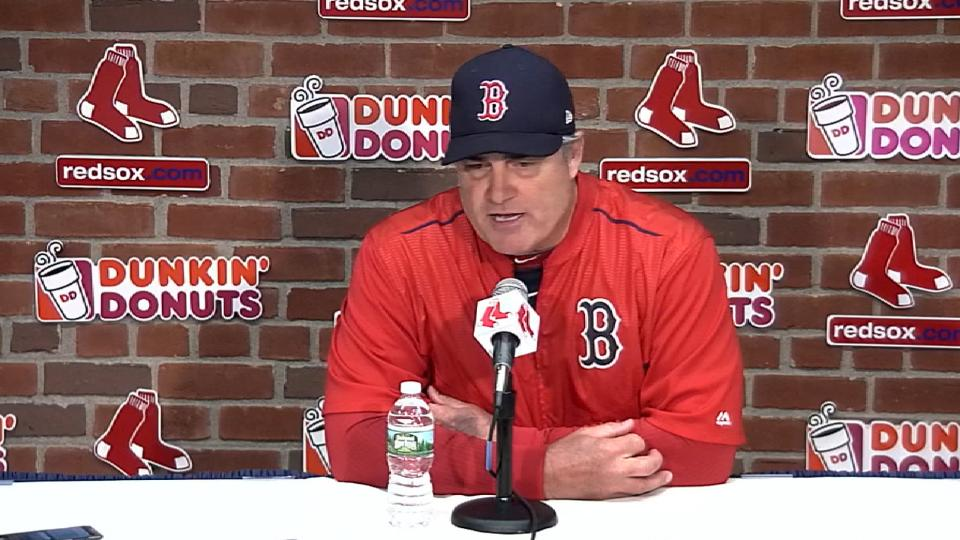 Farrell on defensive struggles