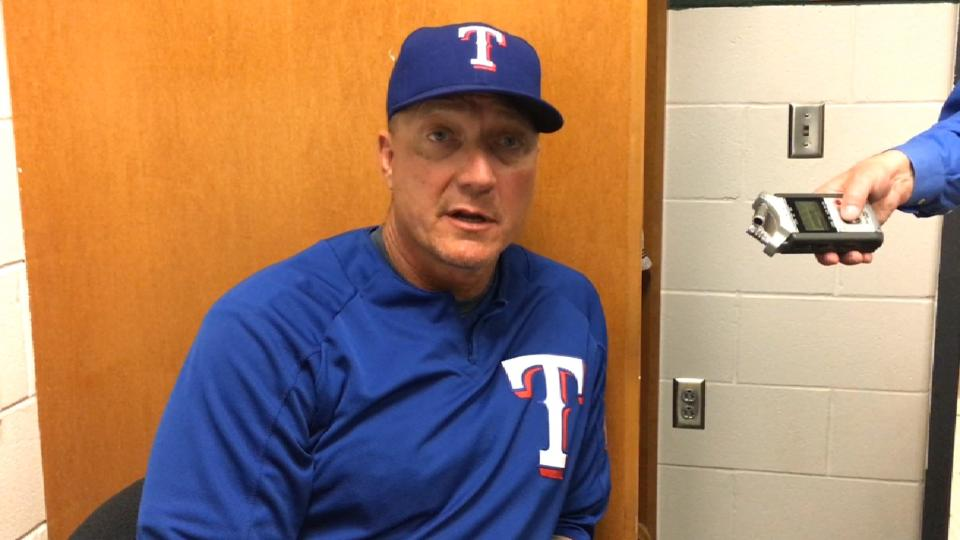 Banister on loss to Astros