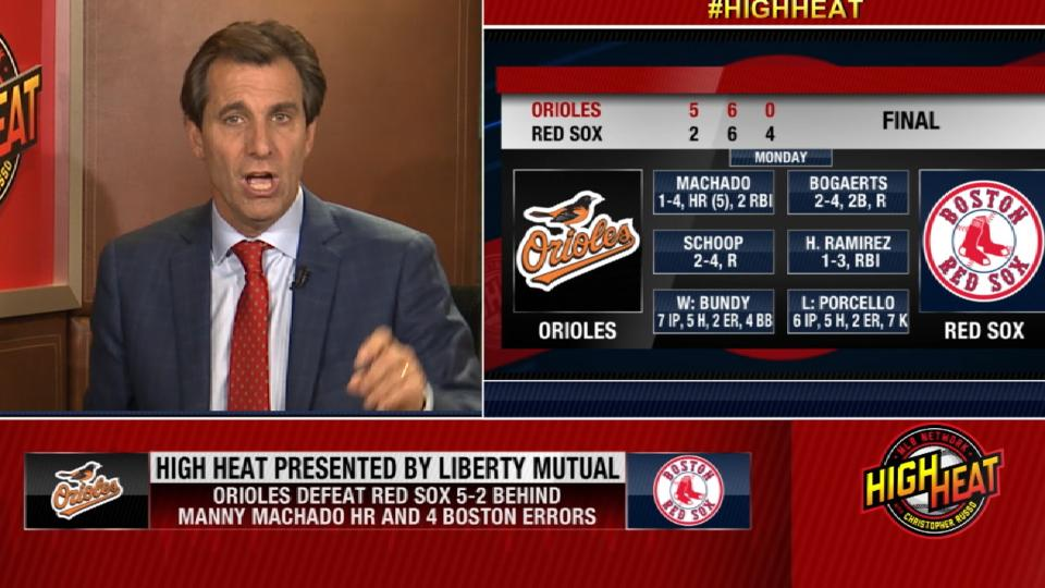 Mad Dog on Orioles, Red Sox