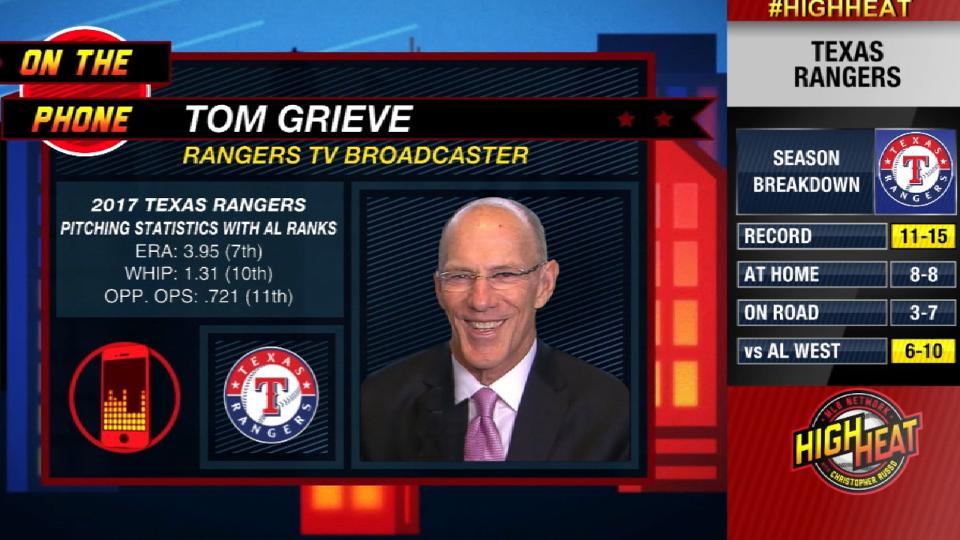 Tom Grieve calls High Heat