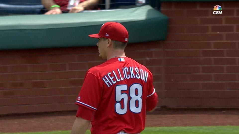 Hellickson's amazing April