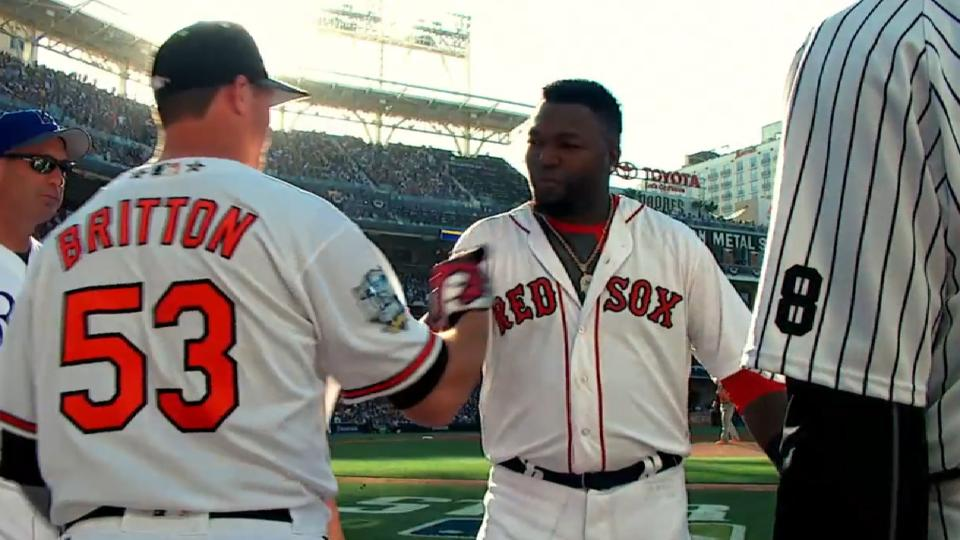 Britton on his sinker and Papi