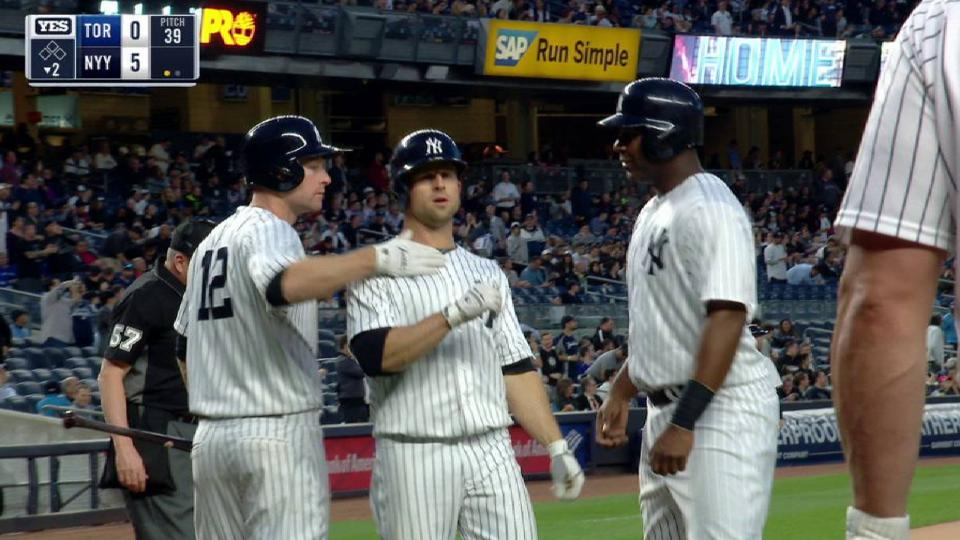 Gardner's long two-run homer
