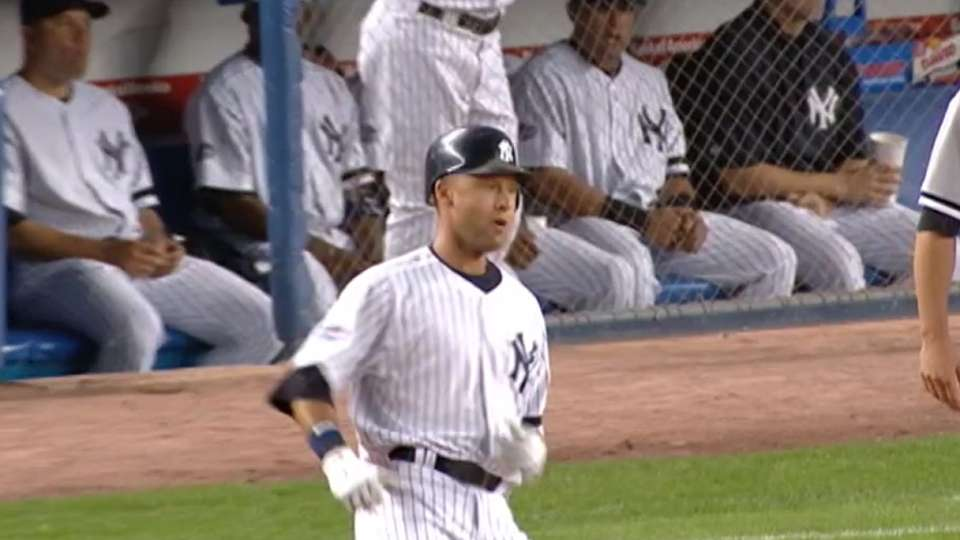 Jeter is Stadium hits king