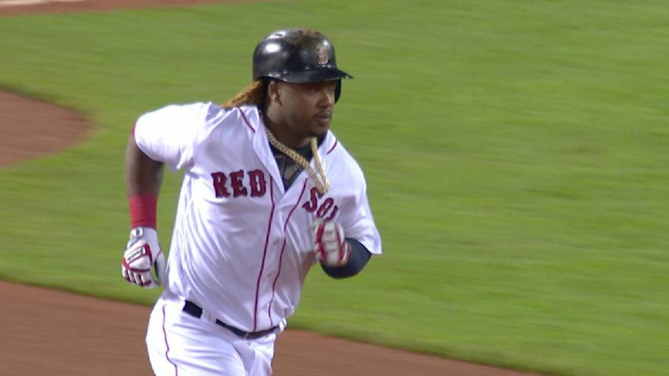 Hanley's solo home run