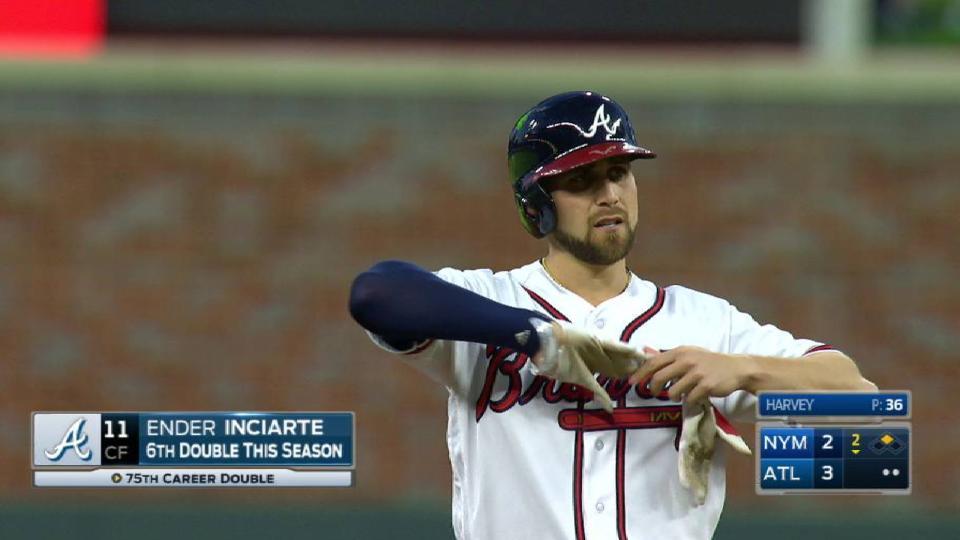 Inciarte's RBI double