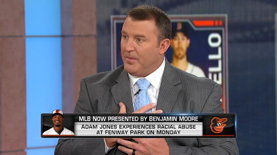 MLB Now on Jones' experience