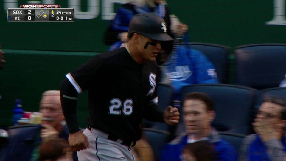 W. Garcia's fielder's choice RBI