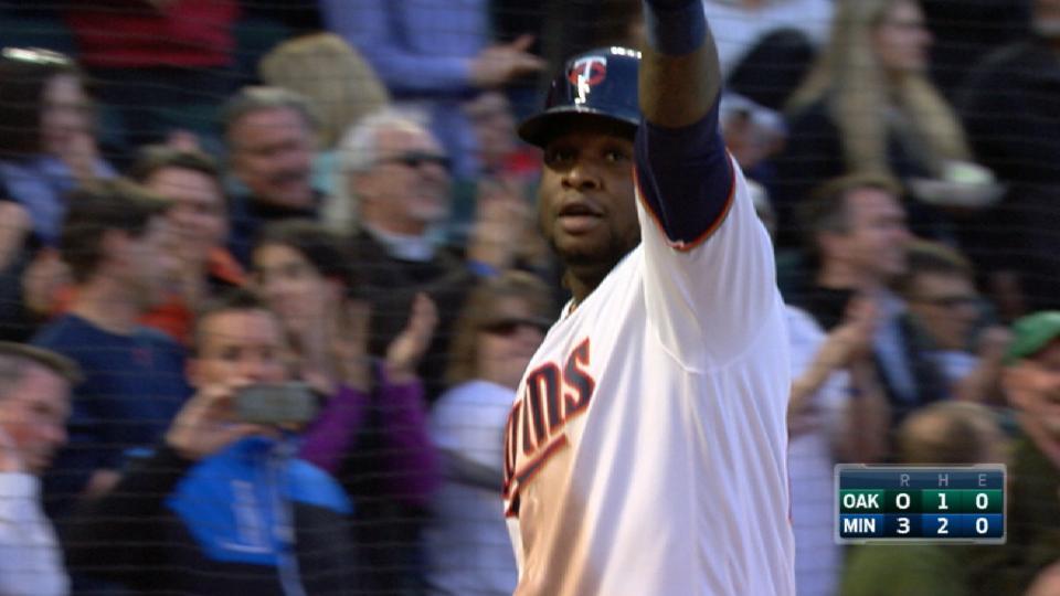 Sano's mammoth two-run homer