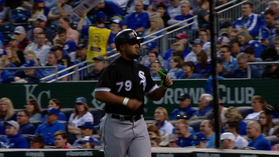 Soto's sac fly to left