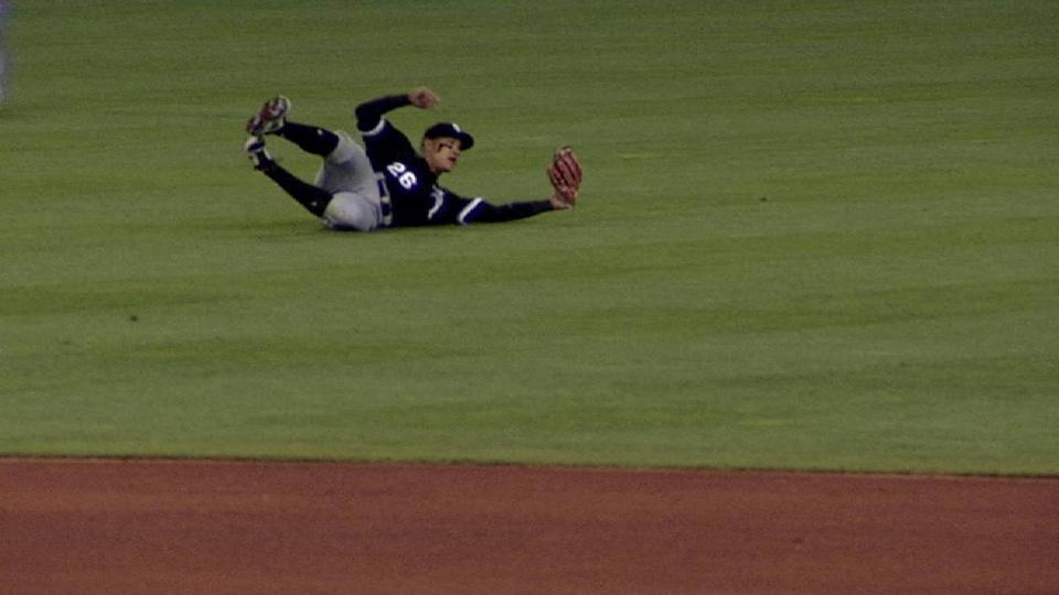 A. Garcia's sliding grab