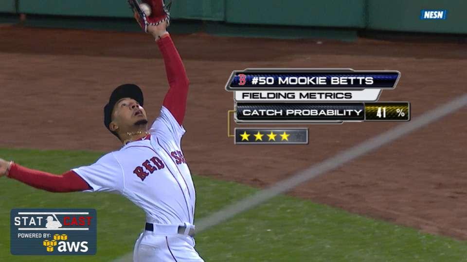 Statcast: Betts' four-star catch