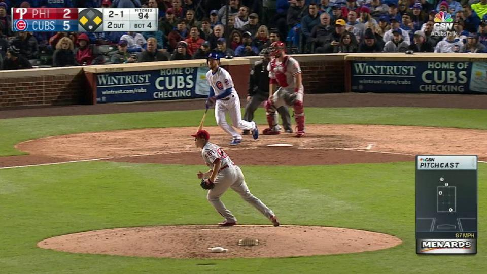 Hernandez nabs Rizzo at home