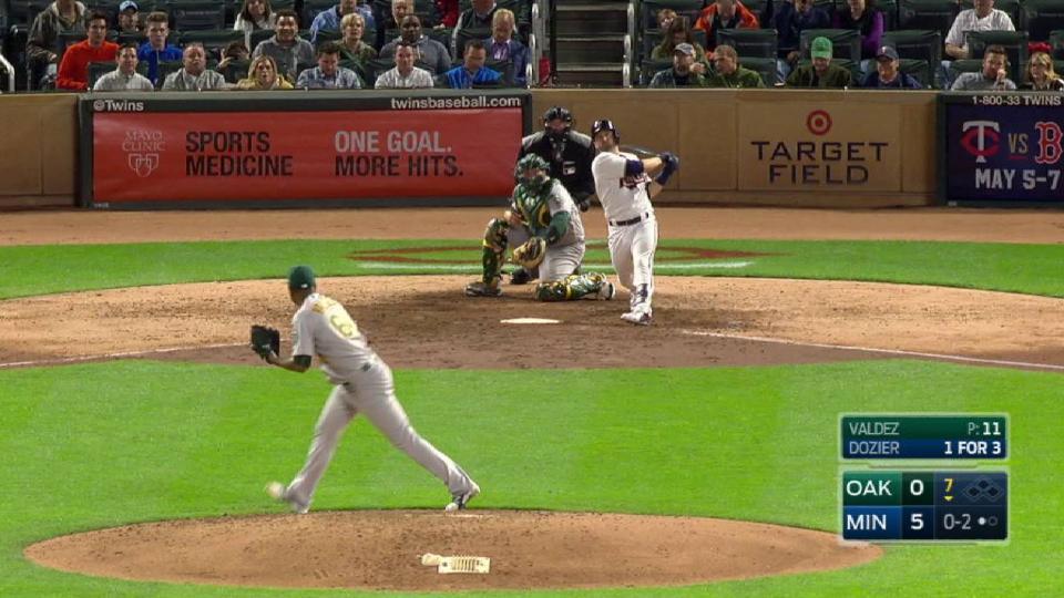 Dozier's second homer
