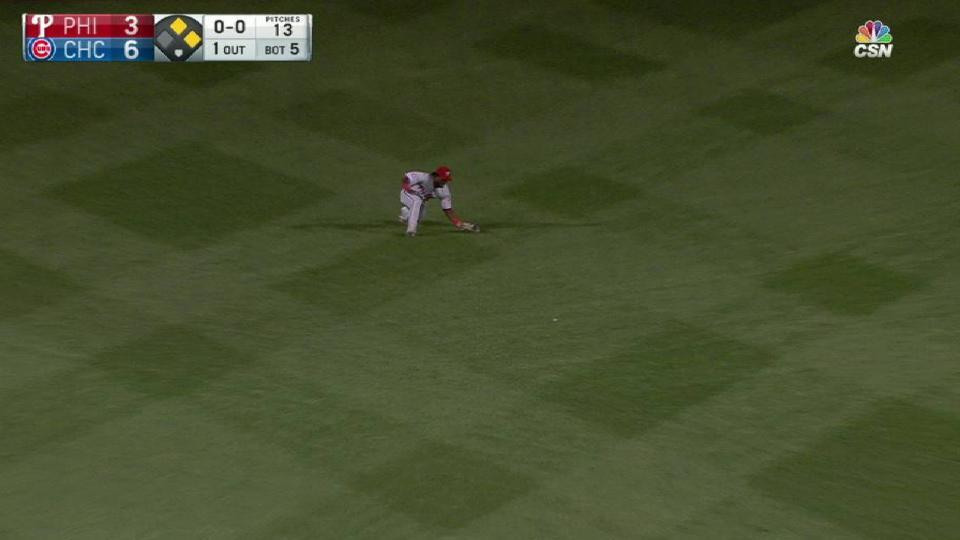 Herrera's diving catch