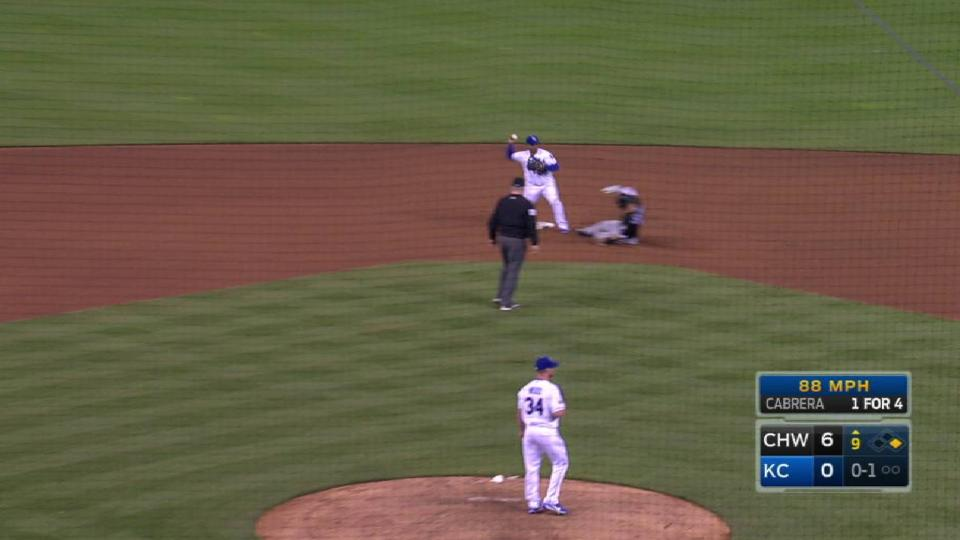 Royals turn two in the 9th