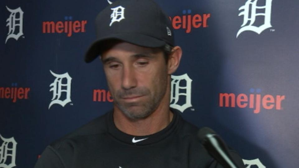 Ausmus on 5-2 win over Indians