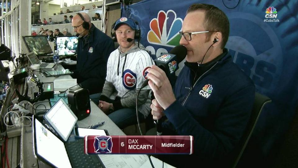 McCarty on the Chicago Fire