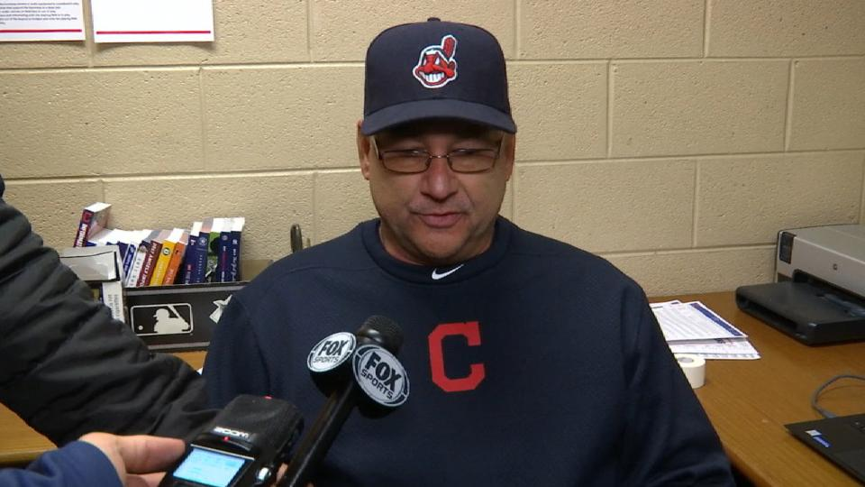 Francona on tough loss to Tigers