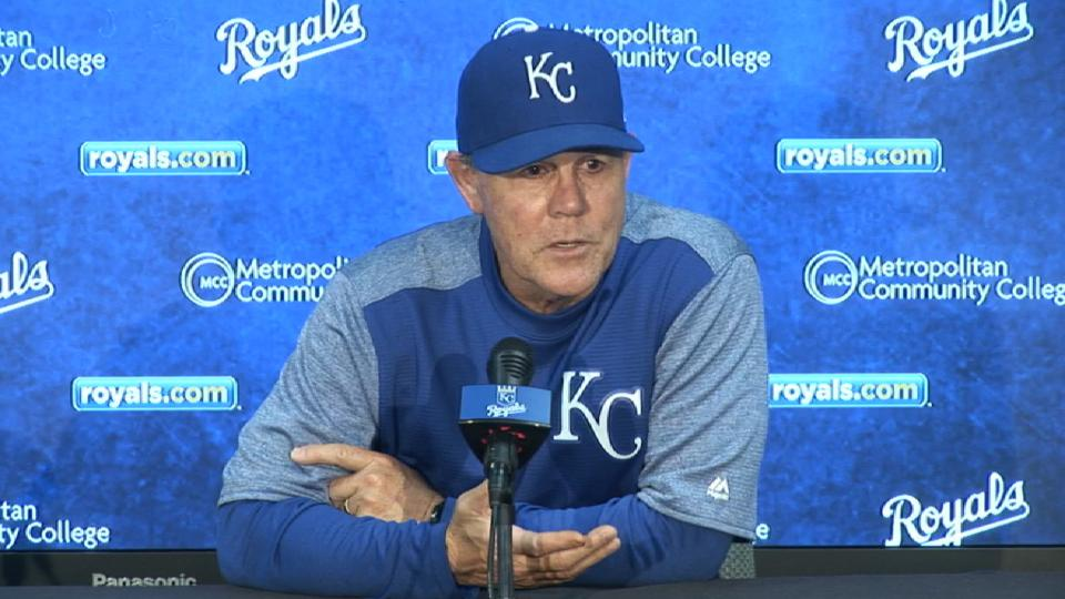 Yost on being shut out at home