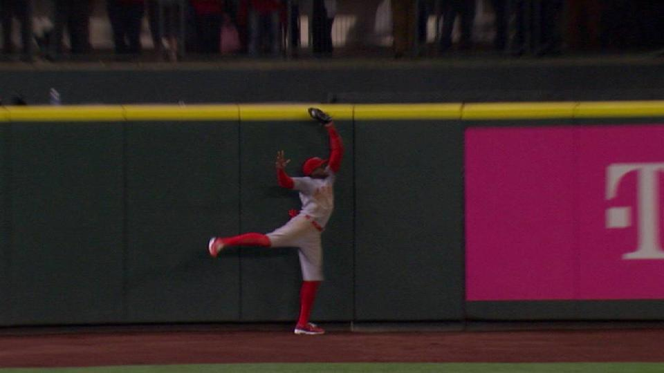 Maybin's spectacular catch
