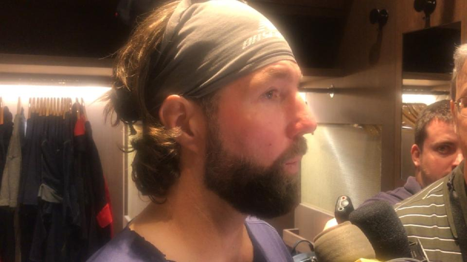 Dickey on managing his pitches