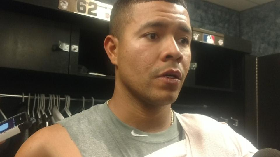Quintana on his solid outing