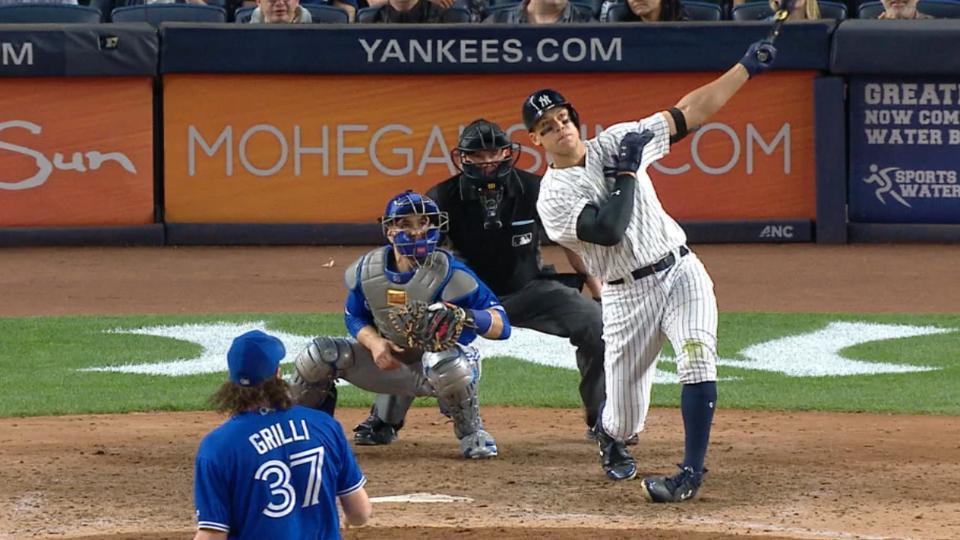 Radio Call: Judge's second homer