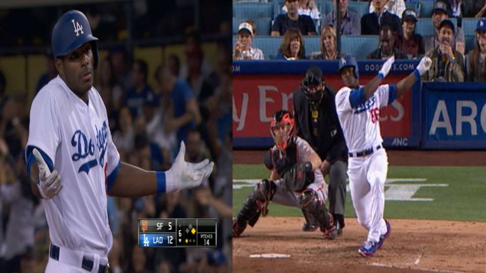 Puig's three-hit, four-RBI game