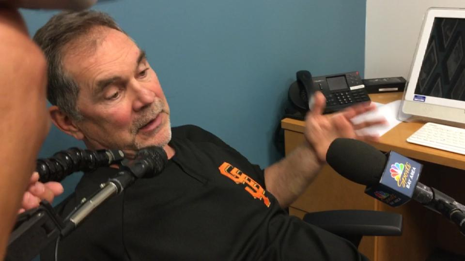 Bochy on pitching struggles