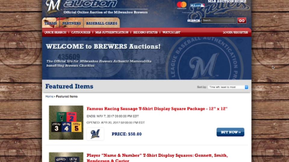 Brewers Ultimate Auction 2017