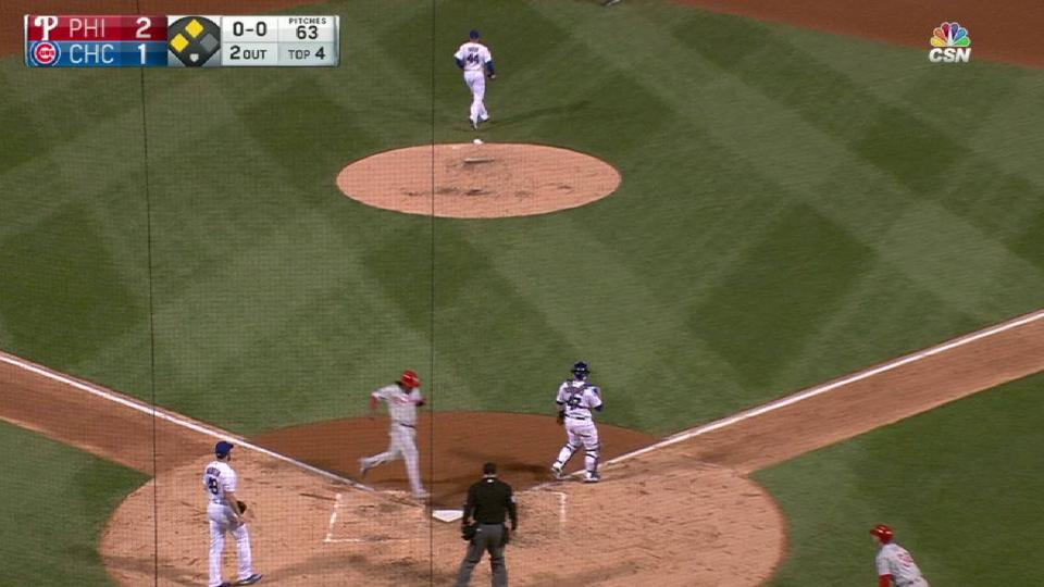 Galvis' sacrifice fly