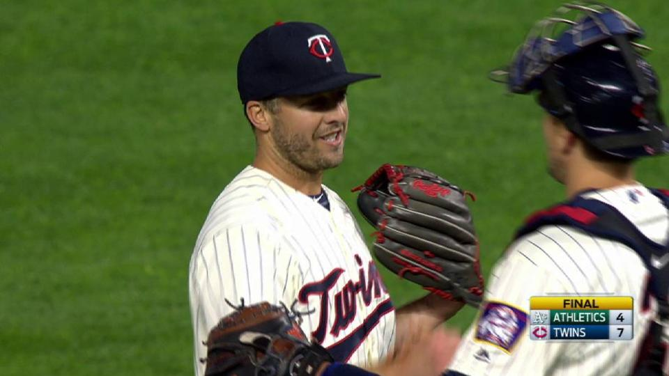 Twins turn two to end game