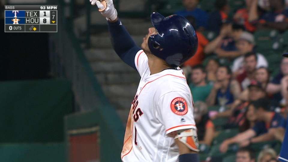 Correa's four-hit game