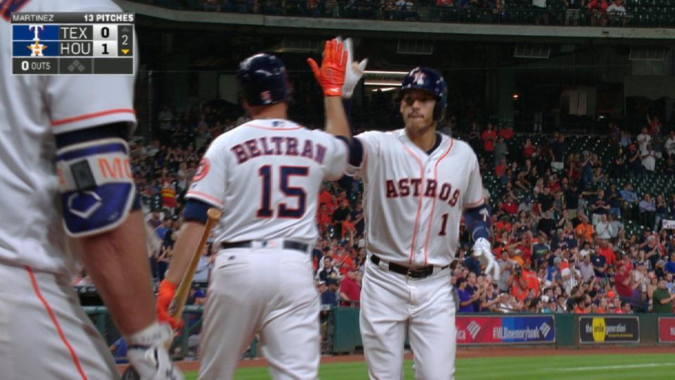 Astros flex their muscles