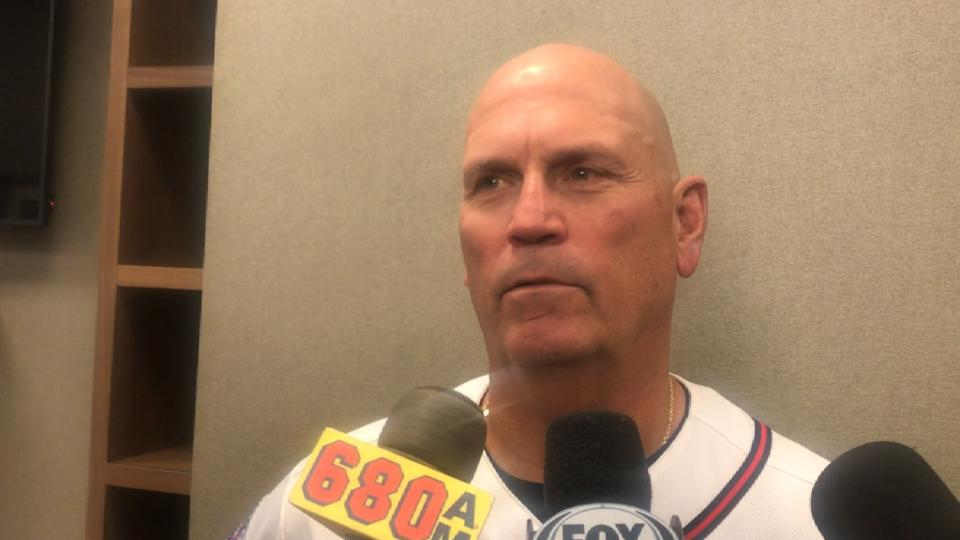 Snitker on Braves' loss at home