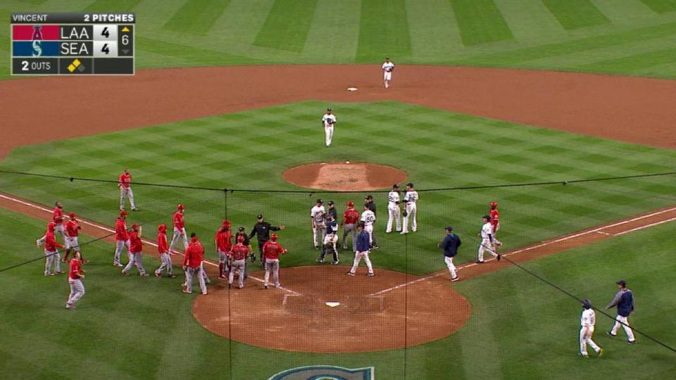 Tempers flare at Safeco Field