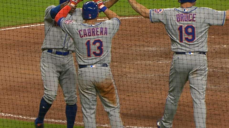 Mets' seven-run 8th inning