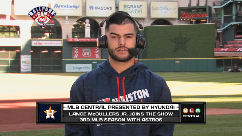 Lance McCullers on MLB Central