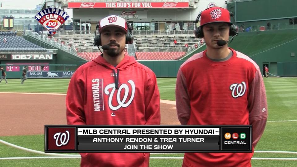 Rendon, Turner join MLB Central