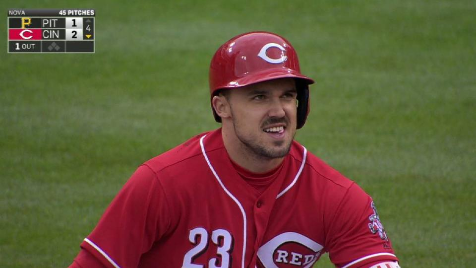 Duvall gives Reds 2-1 lead