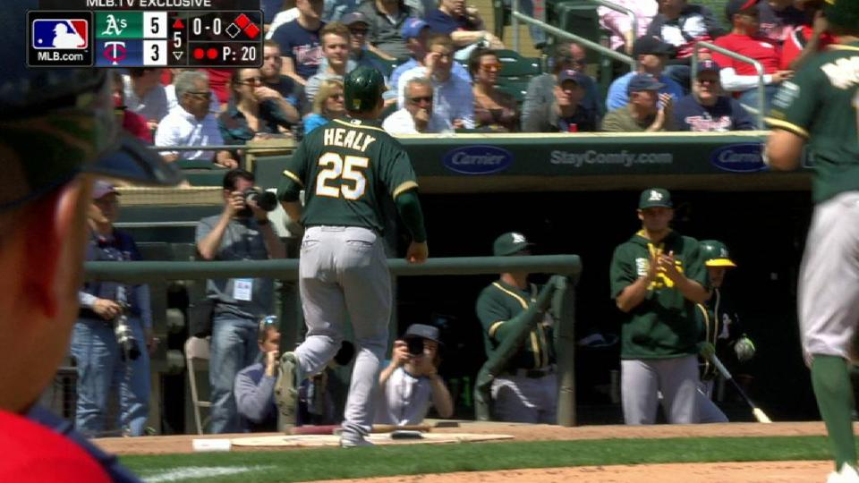 Rosales' sac fly extends lead