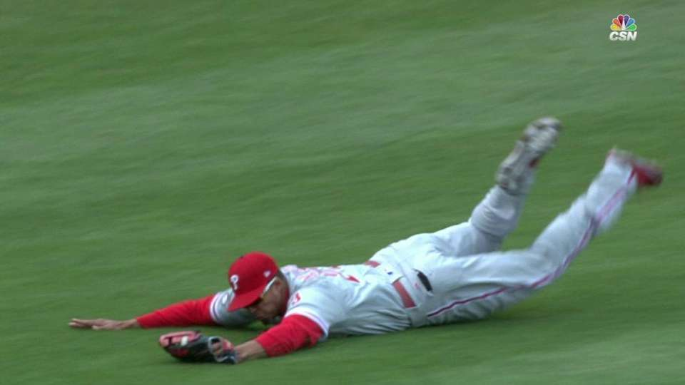 Altherr's diving catch