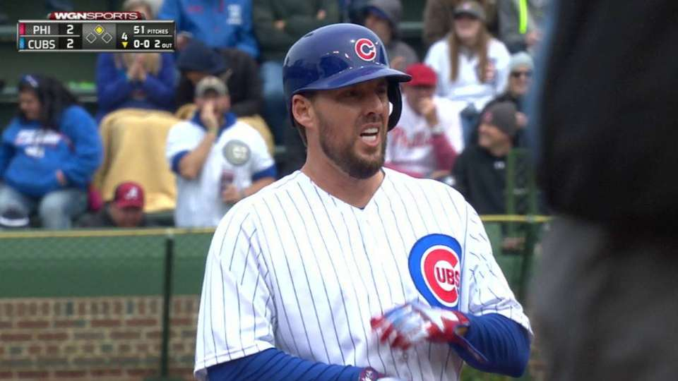 Lackey's stand-up double