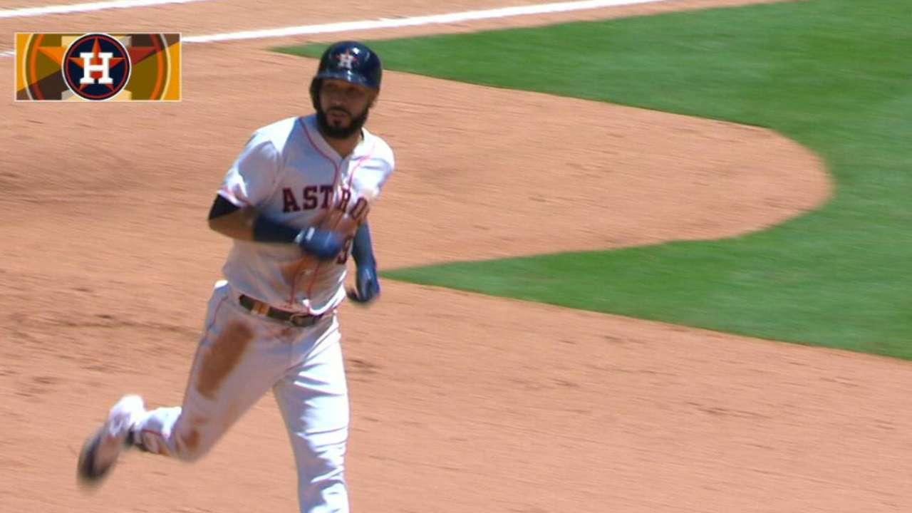 La versatilidad de Marwin González es un lujo para los Astros de Houston