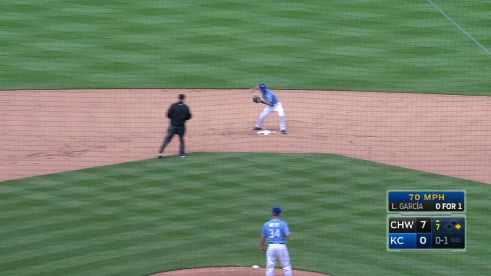 Royals turn two in 7th inning