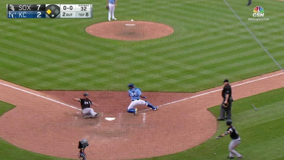 Sanchez's sac fly in 8th
