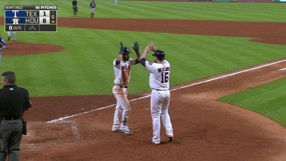 Gonzalez's two-run smash
