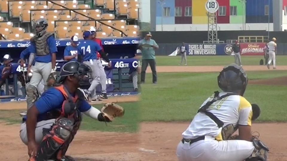 Venezuelan catching prospects