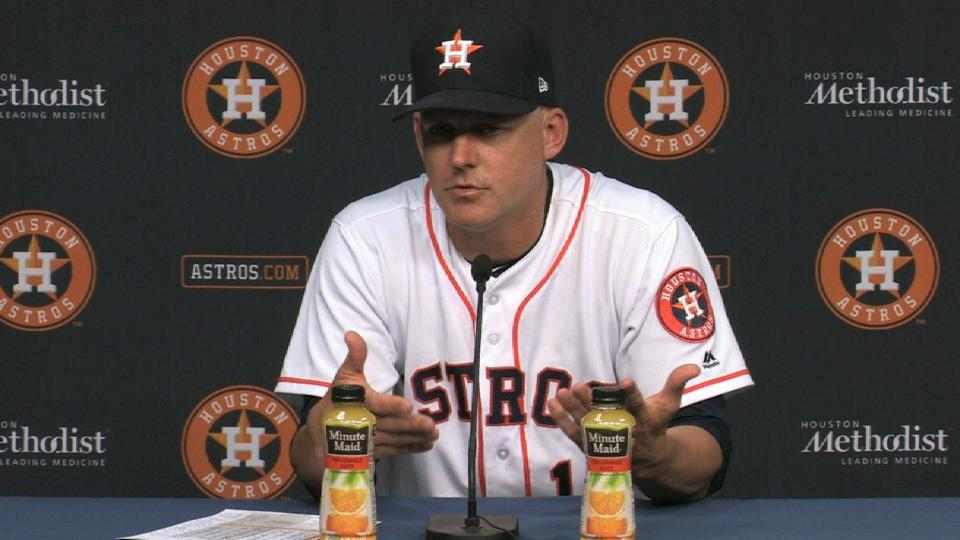 Hinch on tough loss to Rangers